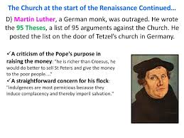 Ap World History The Protestant Reformation Ppt Download