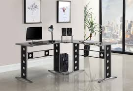 Computer office desks home Tuscany Brown Home Furniture World Home Office Desks 3pc Computer Desk Set 800228 Home Office