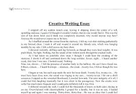 example of creative writing essay info example of creative writing essay example of creative writing essay 3 write good creative essay coursework