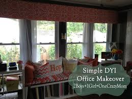 Make Your Own Diy Window Valance In No Time An No Sew 2 Boys