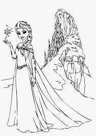 Small Picture Free Printable Elsa Coloring Pages For Kids Inside glumme