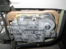 mercury grand marquis questions how do i open the inside fuse 4 answers