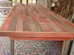 Barnwood Kitchen Table Reclaimed Barnwood Dining Room Table Collective Dwnm
