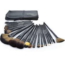 2016 professional makeup brushes 24pcs set 3color brushes set tools portable full cosmetic brush tools kits makeup accessories in makeup scissors from