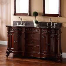60 Provence Double Sink Vanity Bathroom