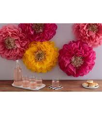 Martha Stewart Paper Flower Martha Stewart Tissue Paper Pom Pom Kit Chrysanth Flowers Wedding