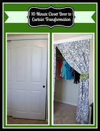 10 minute diy closet doors to curtain project the best of life how to remove a sliding