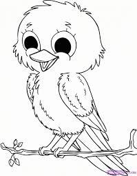 Oiseau Dessin Oiseau Dessiner Un Facile Comment Qui Vole Par