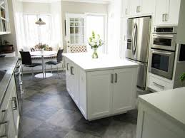 Innovation White Kitchen Tile Floor Ideas With Cabinets Flooring What Are For Concept Design