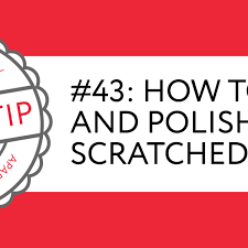 quick tip 43 how to polish repair scratched glass apartment therapy