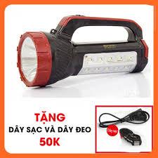 SALE] Đèn pin sạc siêu sáng kiêm đèn bàn KM2651 +Tặng NGAY dây sạc + dây  đeo, Giá tháng 10/2020