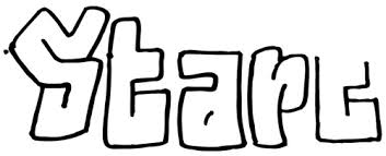 how to draw graffiti styled letters