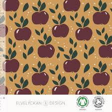 Elvelyckan Design Us Apples Gold 017 Wholesale