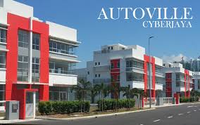 autoville cyberjaya is the sole light industrial project in town designated for automotive businesses sited on a 4ha land the development will be