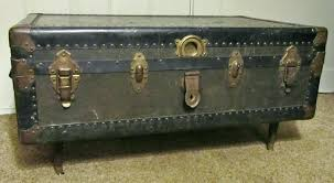 steamer trunks as coffee tables steamer trunk coffee table southern enterprises canada steamer trunk coffee table