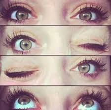 eyes brown eyes red hair brown e s makeup for