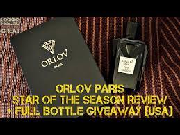 <b>Orlov Paris Star Of</b> The Season Review + Full Bottle Giveaway ...