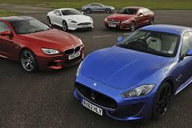 BMW 5 Series bmw m6 vs maserati granturismo : Maserati GranTurismo Sport v Mercedes CLS 63 AMG, BMW M6, Aston ...