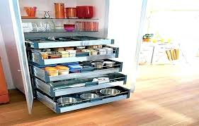 cabinet organizers pull out slide kitchen storage drawers for cabinets glideware organizer pots and pans