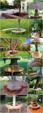 tree seats garden furniture creative u0026 inspiring around trees furniture65 seats