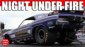 2013 funny car drag racing nitro nostalgia cars night under fire
