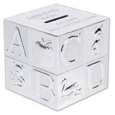 christening personalised end money box