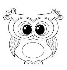 owl coloring pictures. Beautiful Coloring Cartoon Owl Coloring Page More Throughout Pictures U