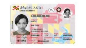 Driver's Secure Officials New Unveil Card And Maryland Net License Id Southern News