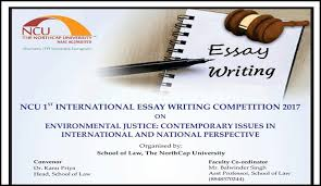northcap university international essay writing competition  entries are currently ongoing for the northcap university 1st international essay writing competition the competition is open to the students who are
