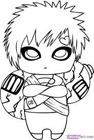Chibi Naruto Coloring Pages Comfy Kakashi Eskayalitim Regarding 8