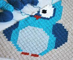 Crochet Owl Blanket Pattern Free Inspiration Owl Blanket Crochet Pattern