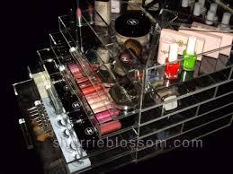 kardashian clear makeup organizer