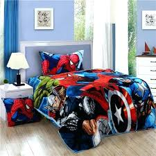 wonderful spiderman full size bed in a bag full sheet set bedding set spider man kids twin size flannel bed sheet quilt duvet spiderman full size bed in a