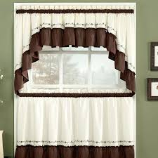 brown valances adorable kitchen curtains and valances and best brown kitchen curtains ideas on home decor