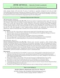 Grocery Store Manager Resume Template Best Of Grocery Store Manager Resume