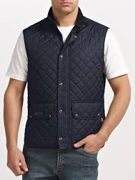Belstaff Quilted Gilet in Blue for Men | Lyst & Gallery Adamdwight.com