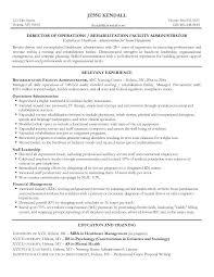 Medical Administration Resume Hospital Administration Sample Resume