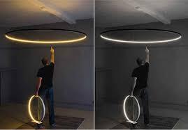 pendant light modern design living led ring ceiling lights led ring pendant light modern living design circle suspended architectural led light fixture