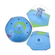 2 Pangda 16 Inch <b>Inflatable Globe</b> Inflatable <b>World</b> Globe Beach Ball ...