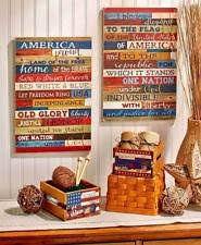 Small Picture Americana Patriotic Home Dcor Plaques Signs eBay