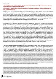 judaism essay year hsc studies of religion ii thinkswap judaism essay