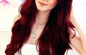 Red Hair Color Guide Different Shades Of Red Hair Chart