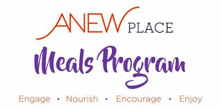 Meals Calendar - Anew Place Inc