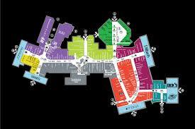 center map of the florida mall®  a shopping center in orlando fl