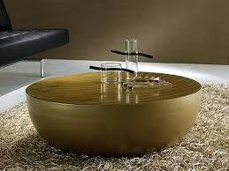 drum coffee table unique gold image and description round australia
