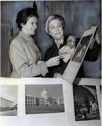 Bentley Image Bank, Bentley Historical Library: Myrtle Ferguson & Senora de  Thone (wife of Dominican Ambassador), at opening of White House  Spanish-Portugese Study Group, 16 December 1950