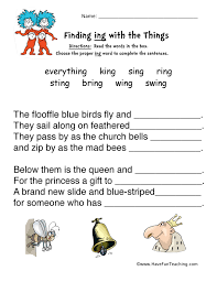 Word Family Worksheets | Have Fun Teaching