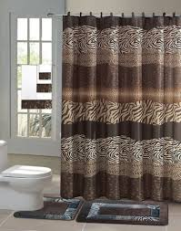 details about zambia safari 15 piece bathroom accessory set 2 bath bathroom sets with shower curtain