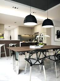 pendant light kitchen table above height lights bedside tables