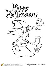 Coloriage Le Mega Halloween Sur Hugolescargot Com